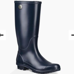 SHELBY MATTE RAIN BOOT NAVY